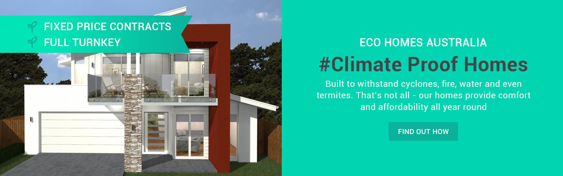 About Eco Homes Australia