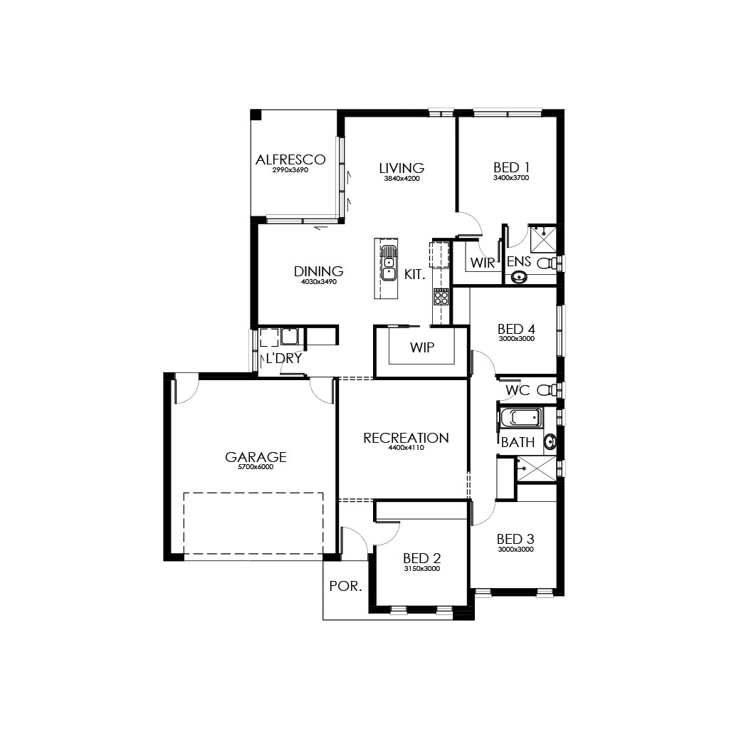Palm Springs 200 Floorplan