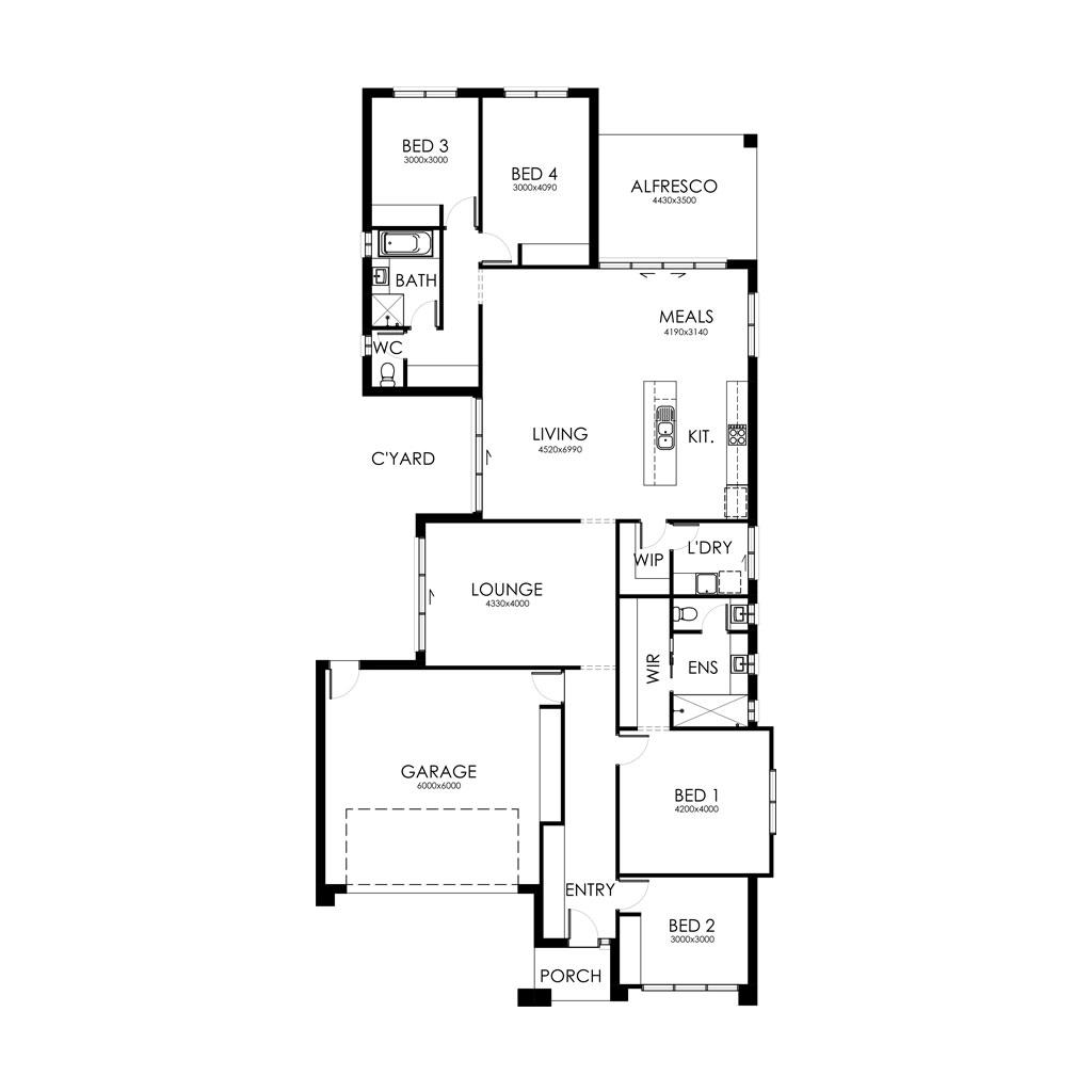 Alexandra 253 Floorplan