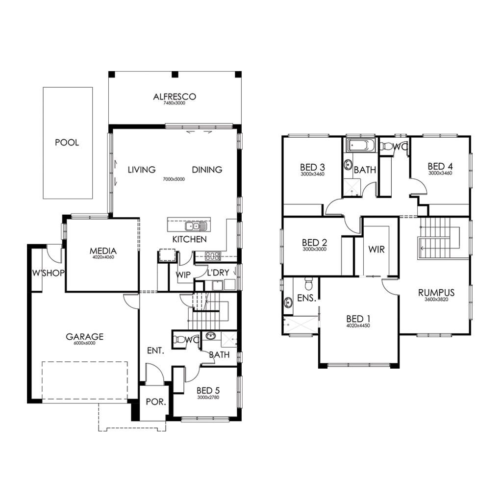 Boambee 299 Floorplan