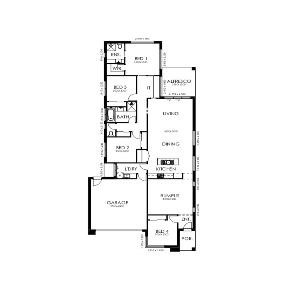 Palm Springs 220 Floorplan