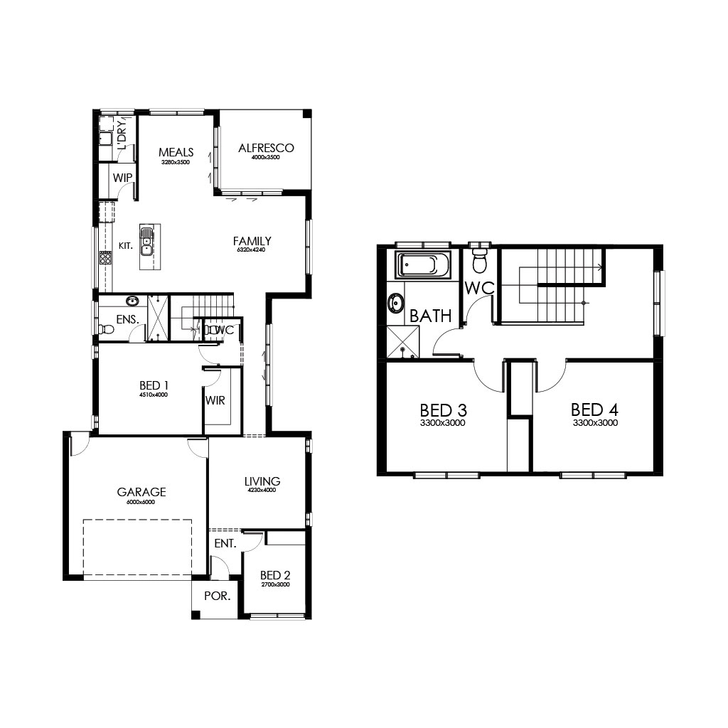 Matte Black 250 Floorplan