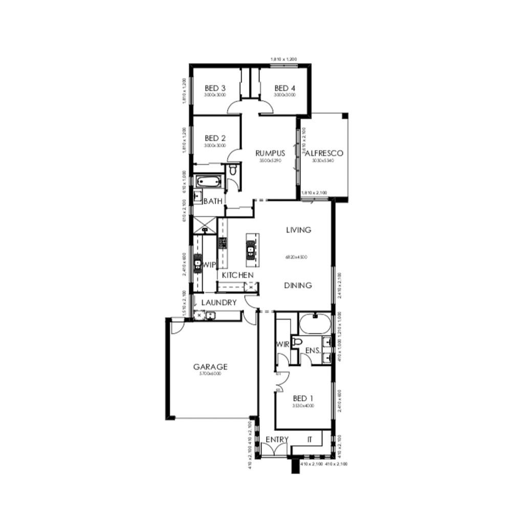 Palm Springs 235 Floorplan