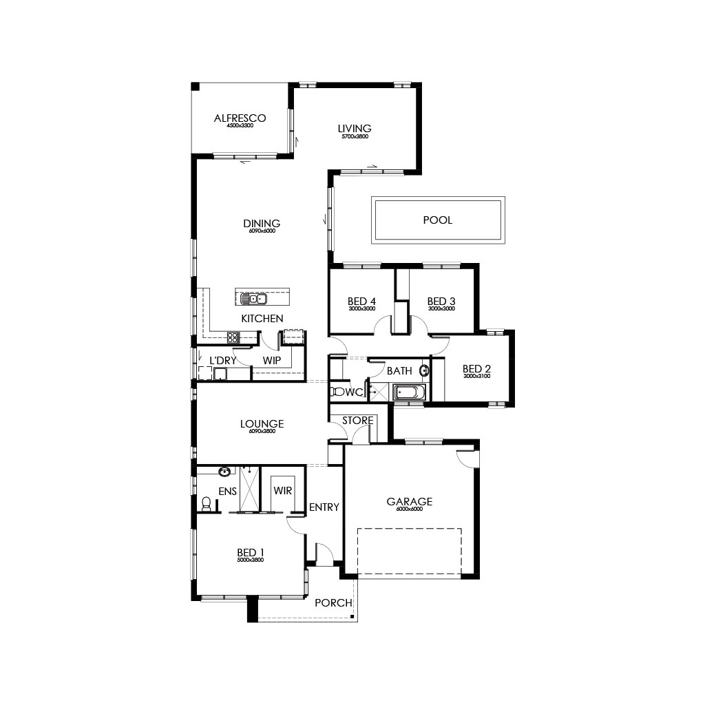Palm Springs 281 Floorplan