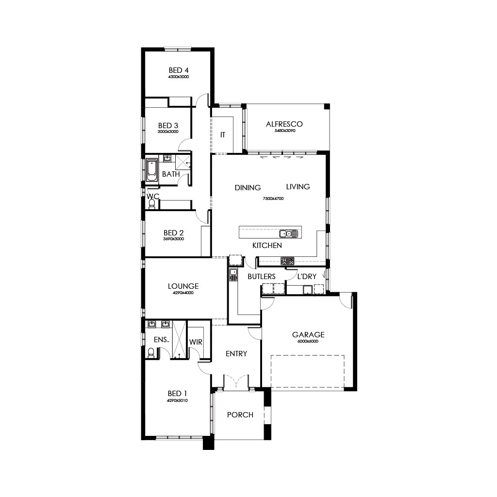Palm Springs 289 Floorplan