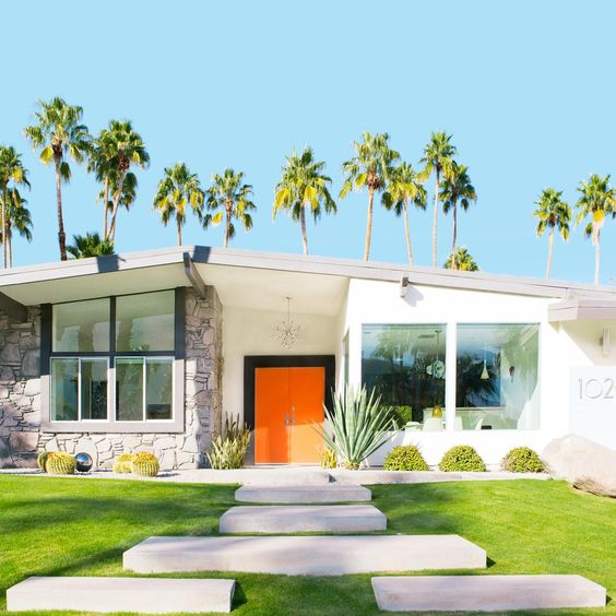 How To Get A Palm Springs Influence In Your New Home Exterior